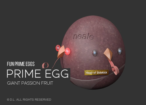 Prime Egg - Giant Passion Fruit