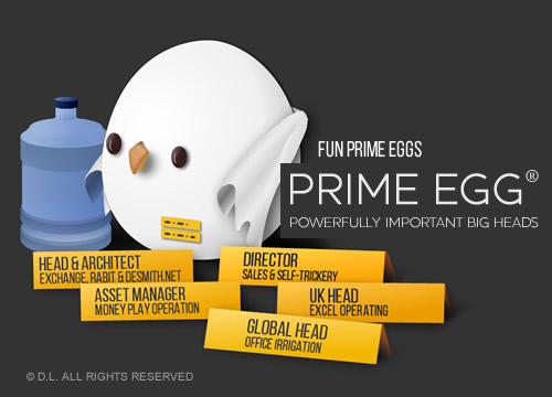 Prime Egg - Global Head of Office Irrigation